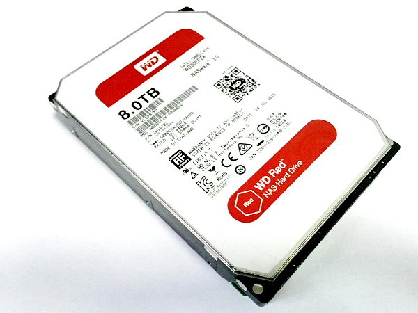 WD 8Tb RED